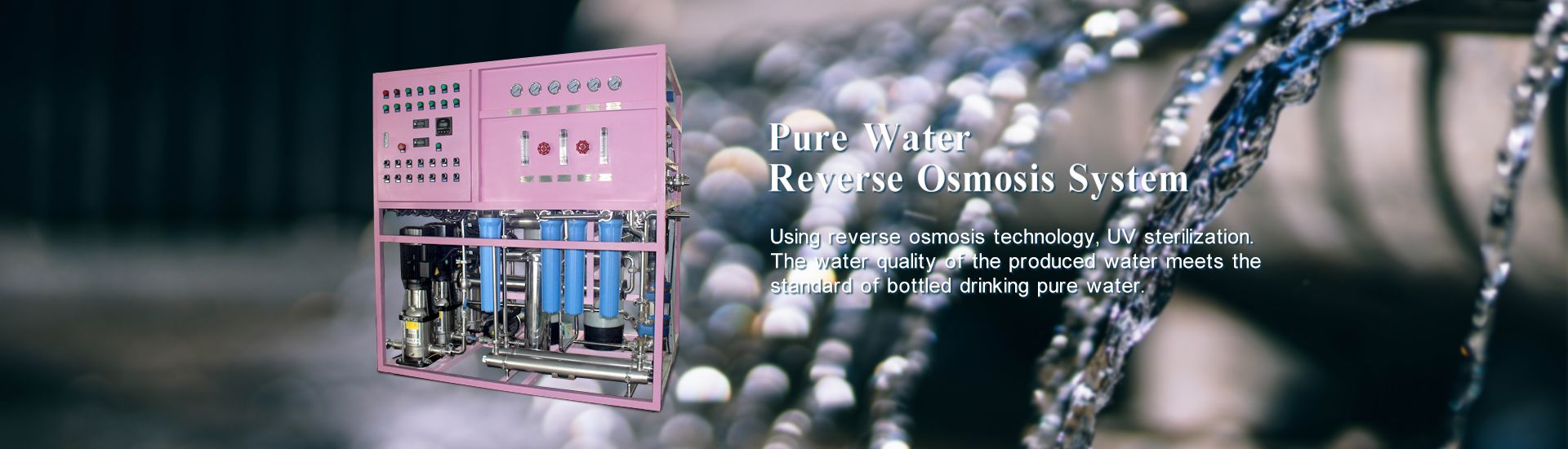 Two-stage Pure Water RO syste