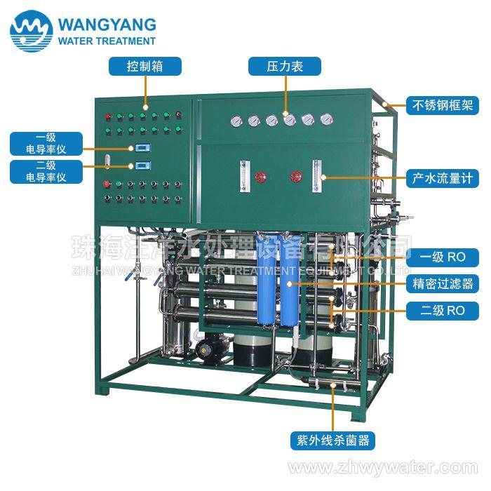 12吨/天 二级反渗透纯水处理设备