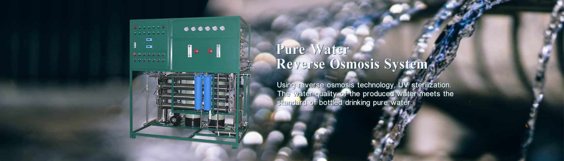 2-stage Pure Water RO system